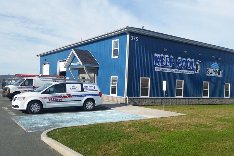 Summit Plumbing & Heating Head Office, St. John's, NL